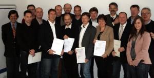 Übergabe der Zertifikate an der THM Gießen