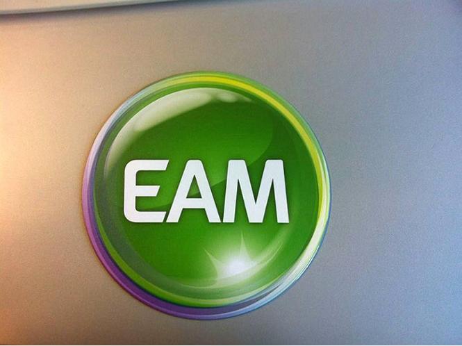 Das neue Logo der EAM