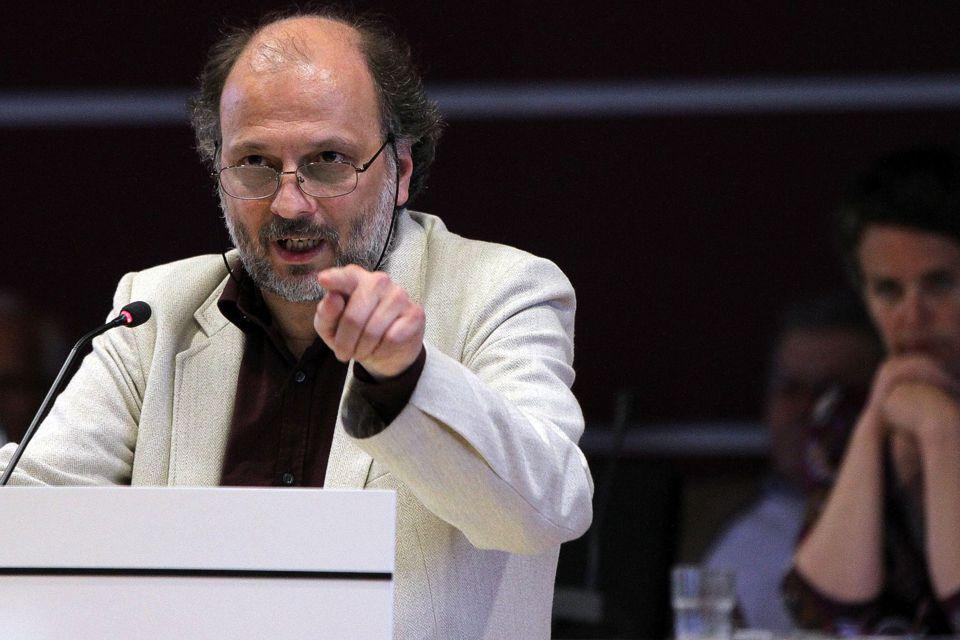 Der Co-Vorsitzende der Grünen im Kreistag Michael Meinel. Foto: Tobias Hirsch