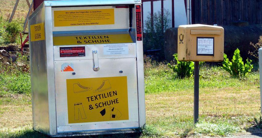 illegale Sammelbehälter in Dilschhausen