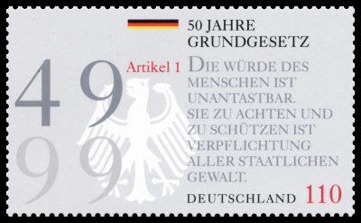 Ernst Jünger und Lorli Jünger für das Bundesministerium der Finanzen und die Deutsche Post AG