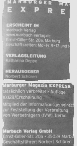 Express-Impressum August 2017